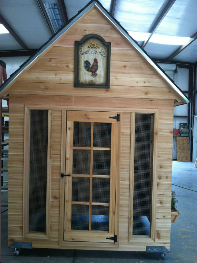 Luxury chicken coops for Fancy chicken coops for sale